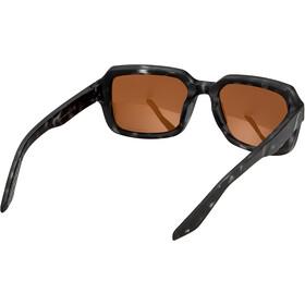 100% Rideley Glasses matte black havana/bronze peakpolar